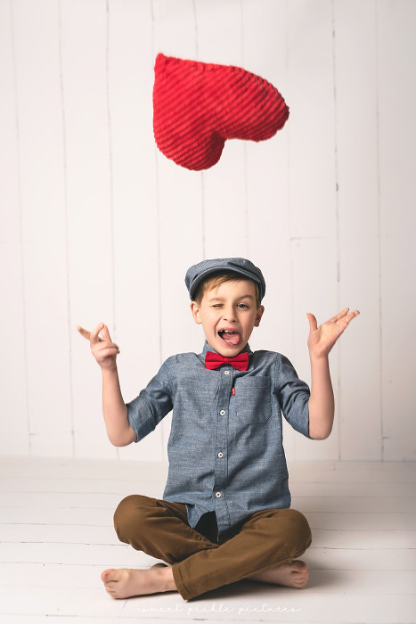 studio child mini sessions valentine